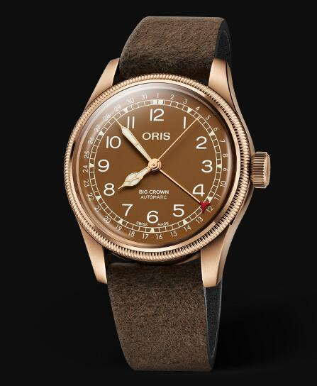 Oris Aviation Big Crown Bronze Pointer Date 40MM Replica Watch 01 754 7741 3166-07 5 20 74BR